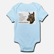 Doberman Pinscher Gifts Onesie