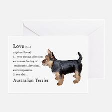 Australian Terrier Greeting Cards (Pk of 10)