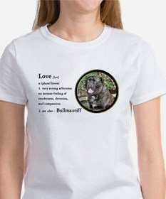 Bullmastiff Love Is Tee