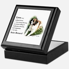 Saint Bernard Gifts Keepsake Box
