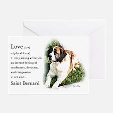 Saint Bernard Gifts Greeting Cards (Pk of 10)