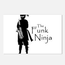 Funk Ninja Postcards (Package of 8)
