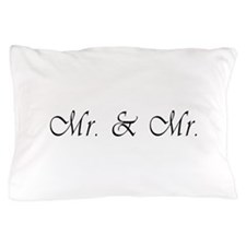 Mr. & Mr. - Gay Marriage Pillow Case