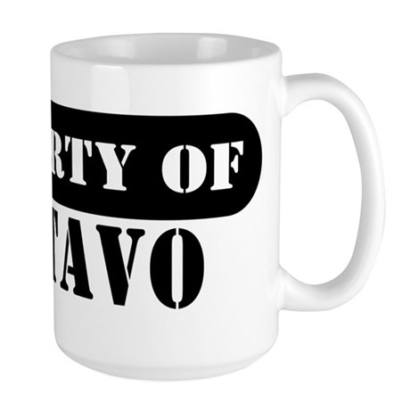 Property of Gustavo Large Mug