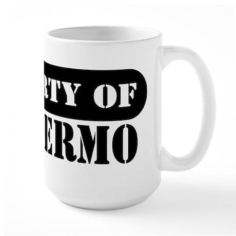 Property of Guillermo Large Mug