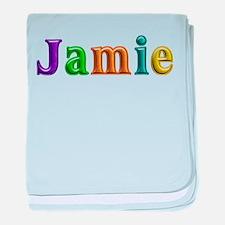 Jamie Shiny Colors baby blanket