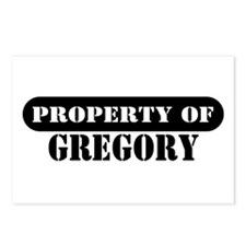 Property of Gregory Postcards (Package of 8)