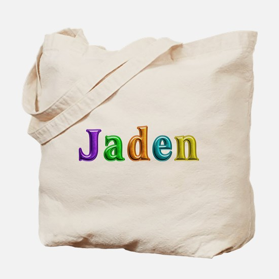 Jaden Shiny Colors Tote Bag