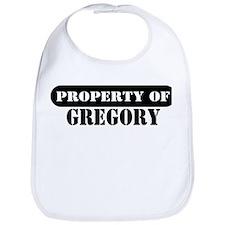Property of Gregory Bib