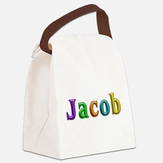 Jacob Shiny Colors Canvas Lunch Bag