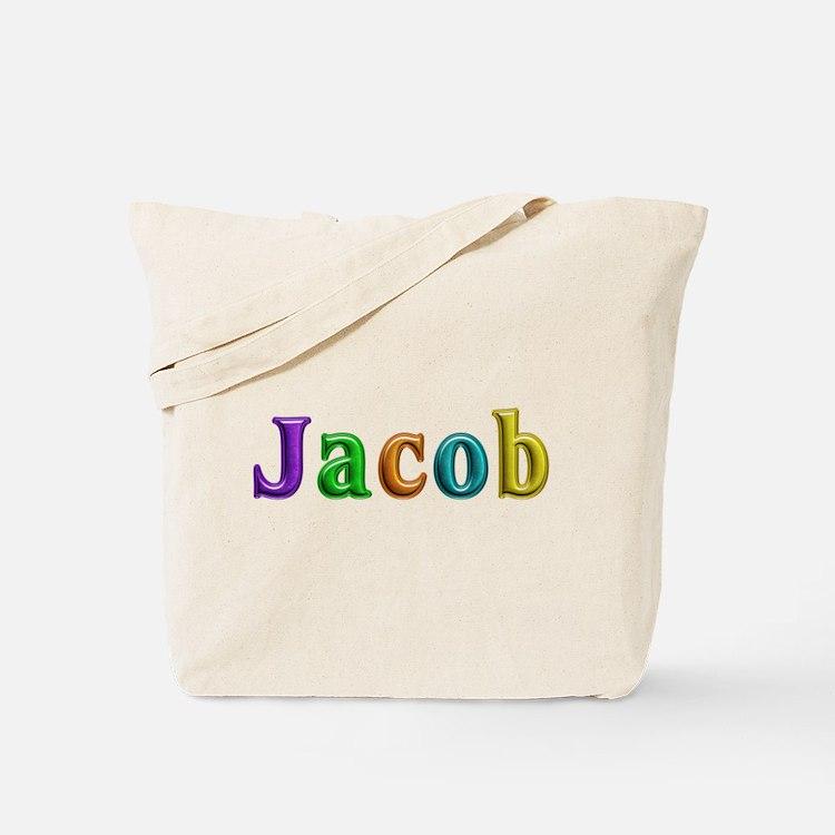 Jacob Shiny Colors Tote Bag