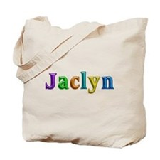 Jaclyn Shiny Colors Tote Bag