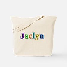 Jaclyn Shiny Colors Tote Bag