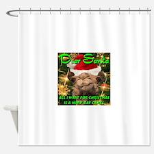 Dear Santa Hump Day Camel Shower Curtain