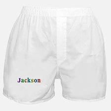 Jackson Shiny Colors Boxer Shorts