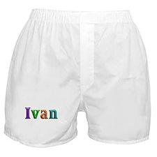 Ivan Shiny Colors Boxer Shorts