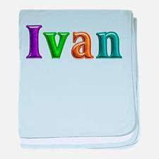Ivan Shiny Colors baby blanket