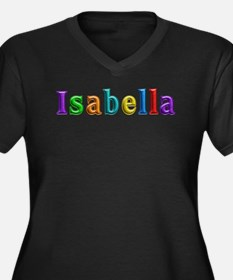 Isabella Shiny Colors Plus Size T-Shirt