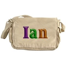 Ian Shiny Colors Messenger Bag