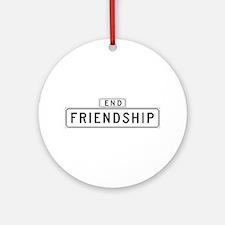 Friendship Ct., San Francisco - USA Ornament (Rou