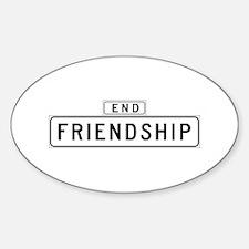 Friendship Ct., San Francisco - USA Decal