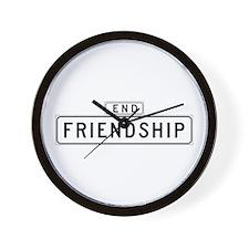 Friendship Ct., San Francisco - USA Wall Clock
