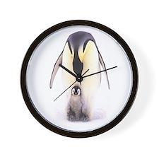 PENGUINS Wall Clock