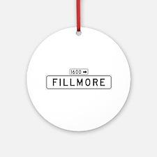 Fillmore St., San Francisco - USA Ornament (Round
