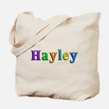 Hayley Shiny Colors Tote Bag