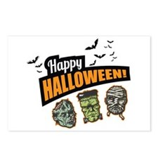 Classic Halloween Postcards (Package of 8)