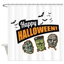 Classic Halloween Shower Curtain