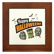 Classic Halloween Framed Tile