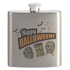 Classic Halloween Flask