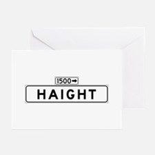 Haight St., San Francisco - USA Greeting Cards (P
