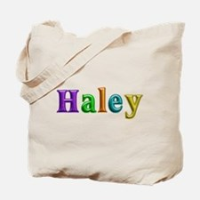 Haley Shiny Colors Tote Bag