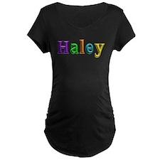 Haley Shiny Colors Maternity T-Shirt