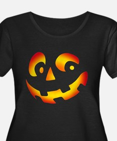 PUMPKIN FACE Plus Size T-Shirt