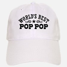 World's Best Pop Pop Baseball Baseball Cap