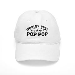 World's Best Pop Pop Baseball Cap