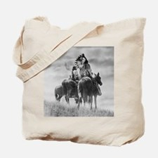 Mounted Warriors Tote Bag