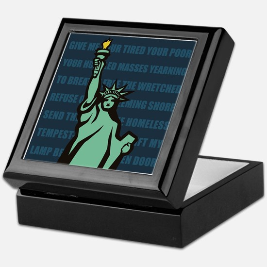 Words of Liberty Keepsake Box