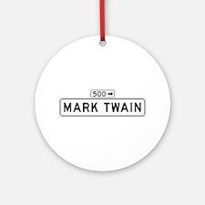 Mark Twain Plz., San Francisco - USA Ornament (Ro