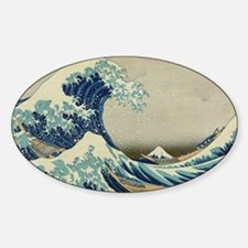 Great Wave by Hokusai Decal