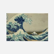 Great Wave by Hokusai Magnets