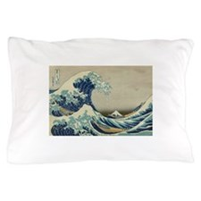 Great Wave by Hokusai Pillow Case