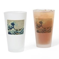 Great Wave by Hokusai Drinking Glass