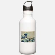 Great Wave by Hokusai Water Bottle