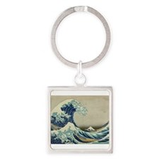 Great Wave by Hokusai Keychains