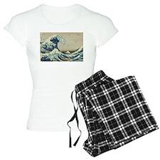 Great Wave by Hokusai Pajamas