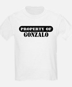 Property of Gonzalo Kids T-Shirt
